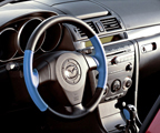 Two-tone steering wheel