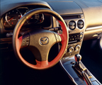 Two tone steering wheel