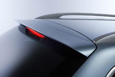 Rear roof spoiler (WGN)