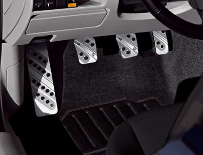 Alloy foot rest (5HB, SDN, WGN)