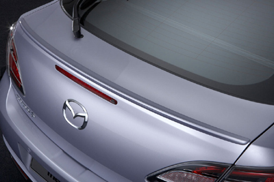Rear spoiler, lip type (5HB)