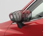 Auto folding mirror kit