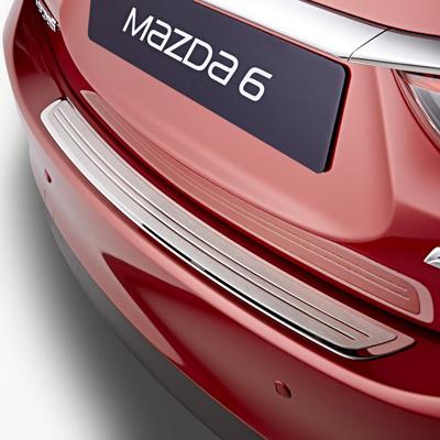 Rear bumper step plate (SDN)