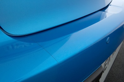 Rear bumper step foil (SDN)