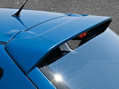 Rear roof spoiler (5HB)