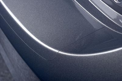 Rear bumper step foil