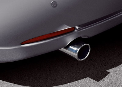 Exhaust trim (5HB, SDN)
