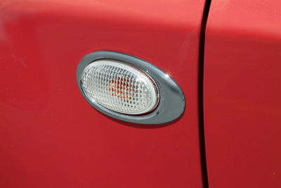 Side indicator bezel