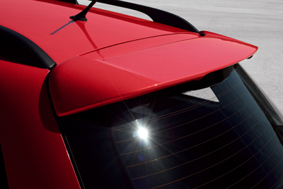 Rear roof spoiler (WGN)