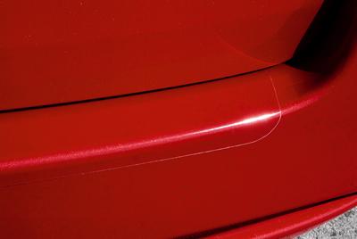 Rear bumper step foil (5HB, SDN)