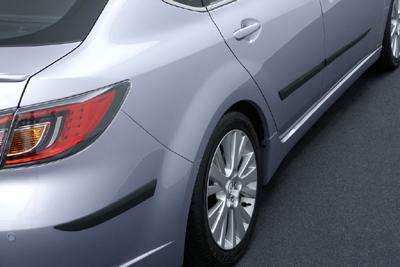 Rear bumper corner and Door side protector
