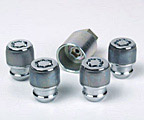 Lockable wheel nuts
