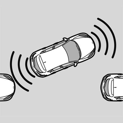 Parking distance sensor