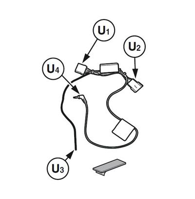 AUX jack switch relay