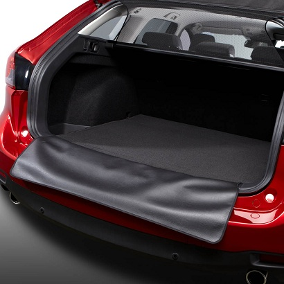 Boot mat with rear bumper protection (WGN)