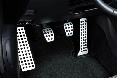 Alloy foot rest