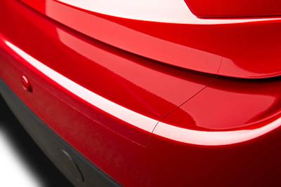 Rear bumper step foil (5HB)