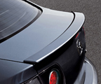 Rear spoiler, lip type