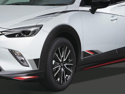 Mazda Cx 3 Folierung