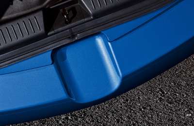 Rear bumper step foil (5HB)