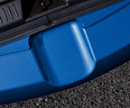 Rear bumper step foil